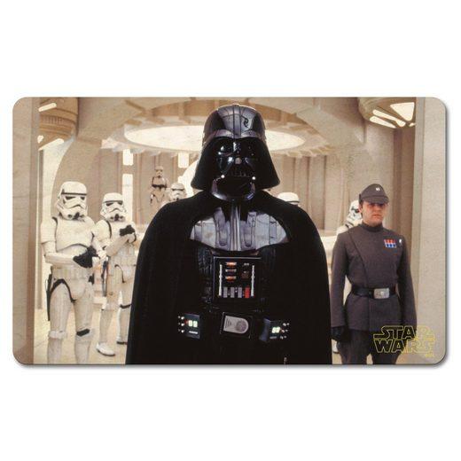 LOGOSHIRT Frühstücksbrettchen mit hochwertigem Druck »Star Wars - Darth Vader«