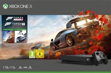 Xbox One X 1TB (Bundle, inkl. Forza Horizon 4 + Forza 7)
