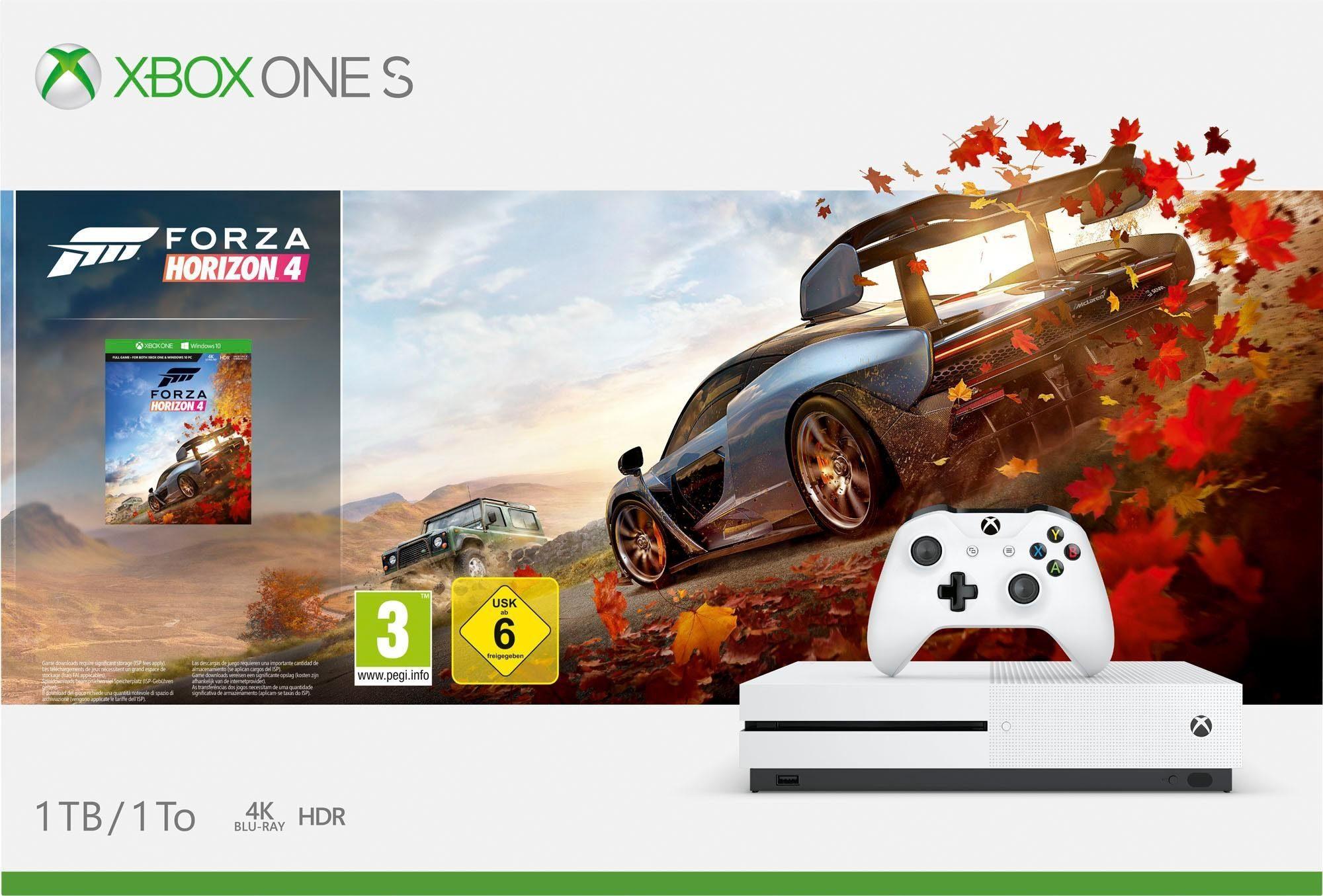 Xbox One S 1TB (Bundle, inkl. Forza Horizon 4)
