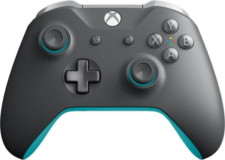 xbox one wireless grey blue controller kaufen otto. Black Bedroom Furniture Sets. Home Design Ideas