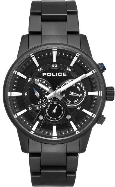 Police Multifunktionsuhr »AVONDALE, PL15523JSB.02M« | Uhren > Multifunktionsuhren | Schwarz | Police