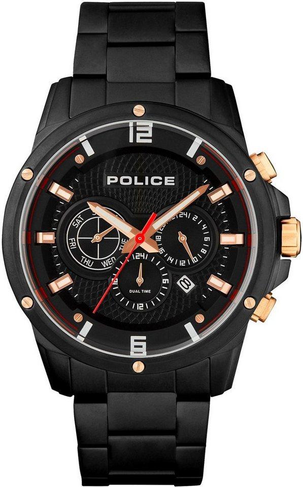 Police Multifunktionsuhr »SHANDON, PL15525JSB.02M« | Uhren > Multifunktionsuhren | Schwarz | Police