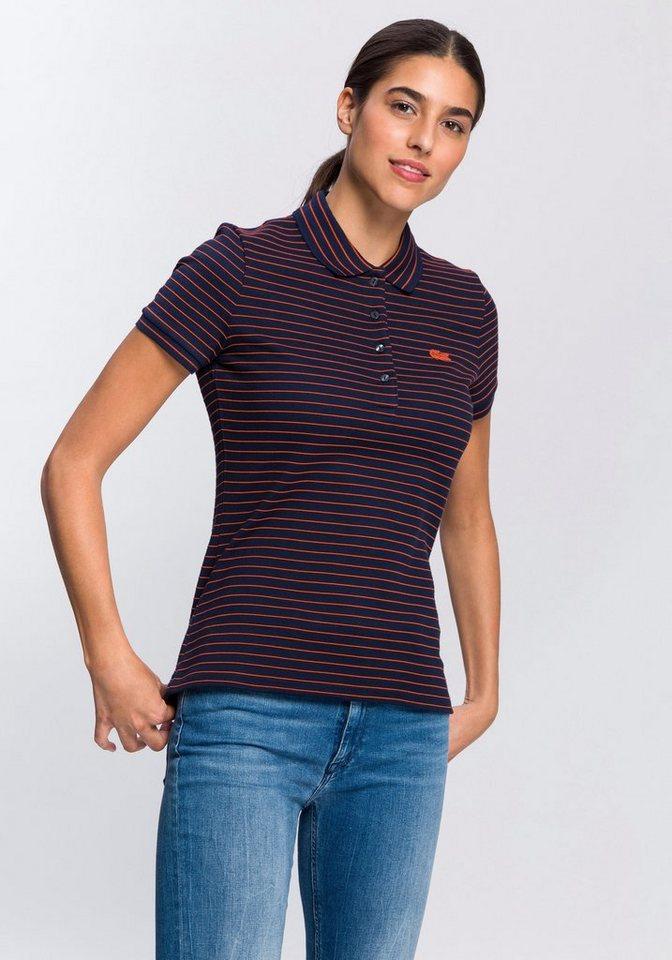 Lacoste Poloshirt mit zusätzlich gestreiftem Kragen online kaufen   OTTO b5c6dd2b18
