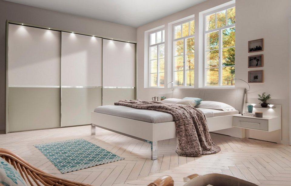 wiemann bett alaska mit polsterkopfteil kaufen otto. Black Bedroom Furniture Sets. Home Design Ideas