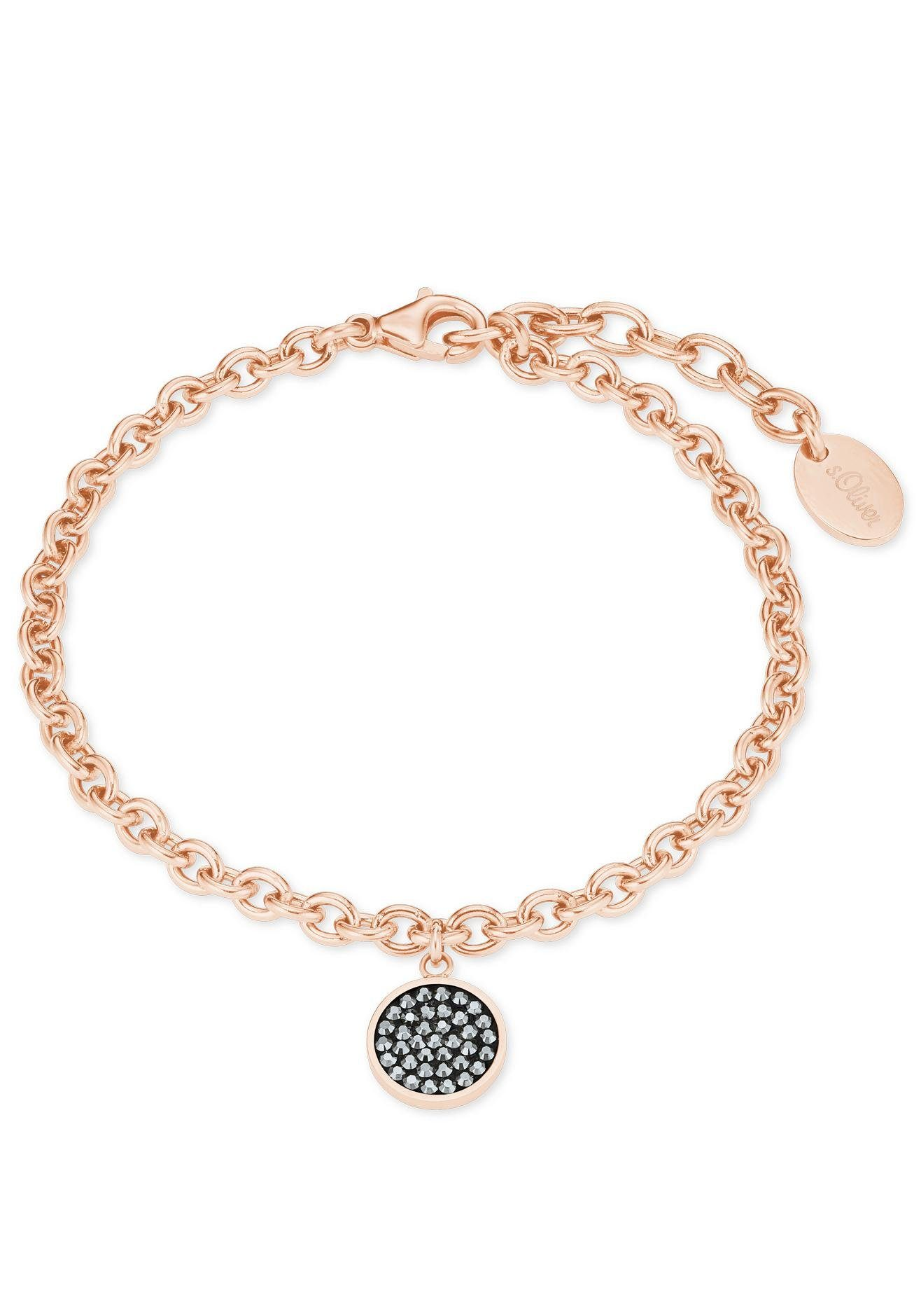 s.Oliver RED LABEL Armband »2022677« mit Swarovski® Kristallen