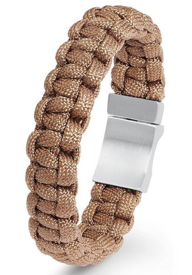 Herren s.Oliver RED LABEL Armband 2022615 braun   04056867011310