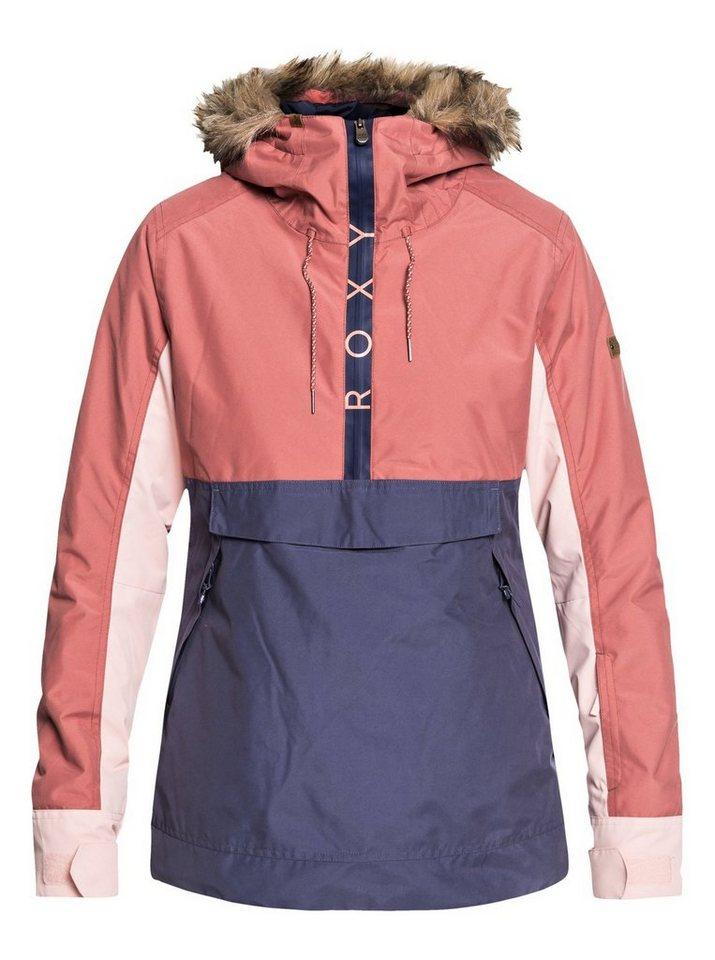 Roxy Snowboardjacke »Shelter« | Sportbekleidung > Sportjacken > Snowboardjacken | Rosa | Polyester - Taft - Trikot | Roxy