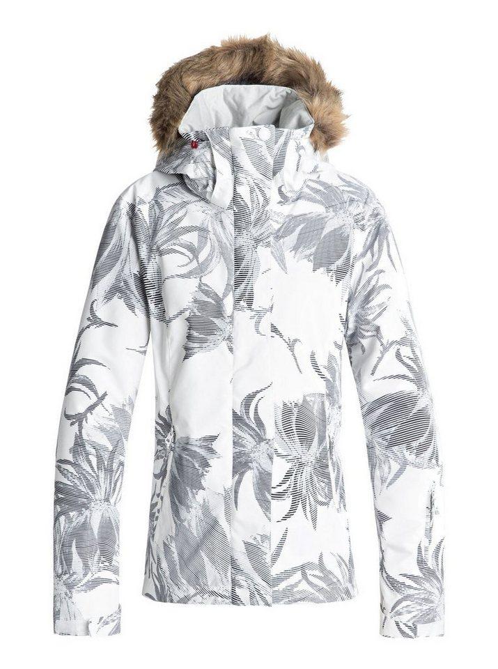 Roxy Snowboardjacke »Jet Ski« | Sportbekleidung > Sportjacken > Snowboardjacken | Weiß | Polyester - Twill - Taft - Trikot | Roxy