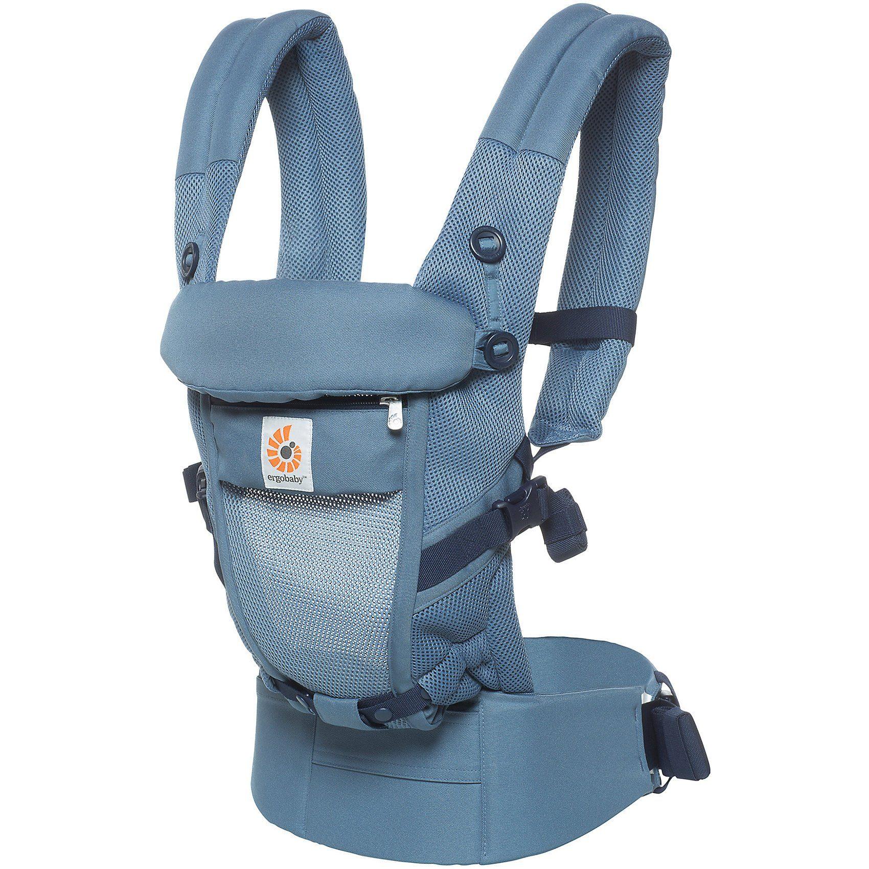 Ergobaby Babytrage Adapt, Cool Air Mesh, Oxford Blue