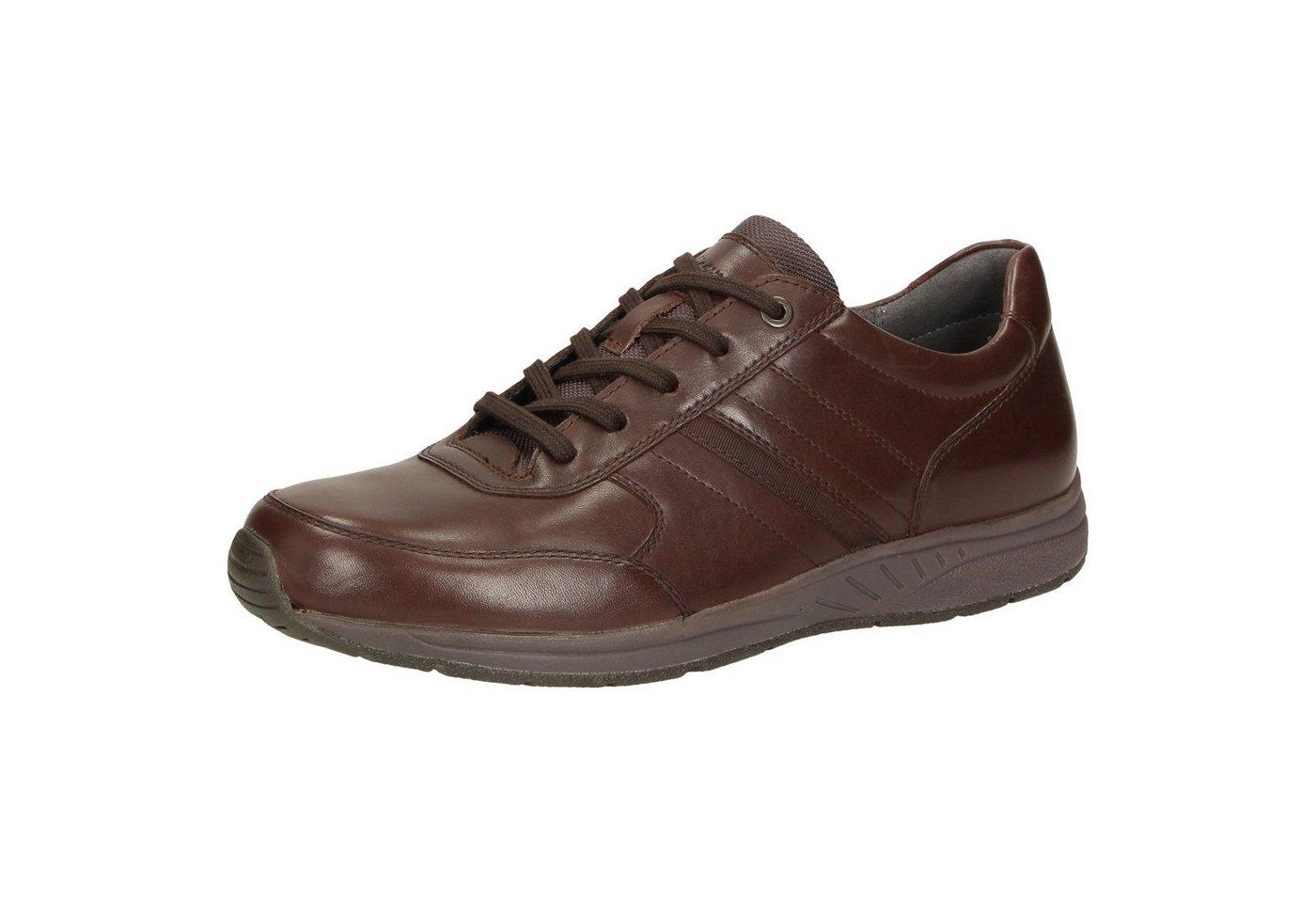 Herren SIOUX Fabirio-703 Sneaker braun   04054765500233
