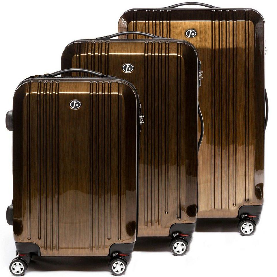 ferg hartschalen trolley cannes 4 rollen kofferset. Black Bedroom Furniture Sets. Home Design Ideas