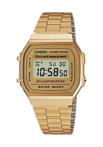 Casio Collection Chronograph »A168WG-9EF« in goldfarben