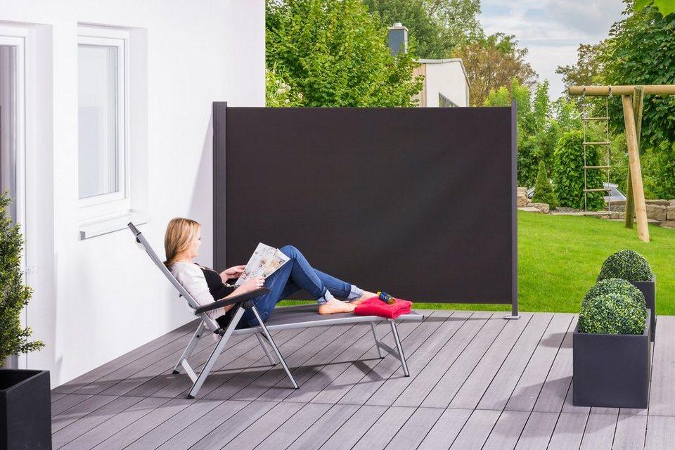 hecht wind und sichtschutz slim bxh 300x200 cm. Black Bedroom Furniture Sets. Home Design Ideas