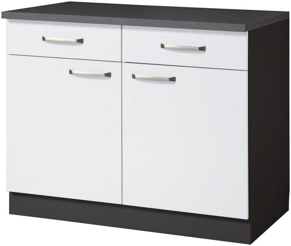 wiho k chen k chenunterschrank michigan breite 100 cm online kaufen otto. Black Bedroom Furniture Sets. Home Design Ideas