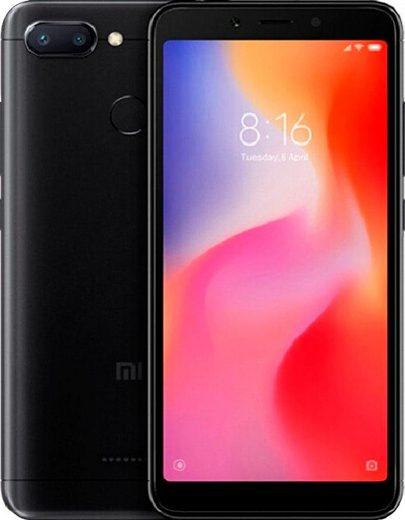 Xiaomi Redmi6 Smartphone (13,84 cm/5,45 Zoll, 64 GB Speicherplatz, 12 MP Kamera)