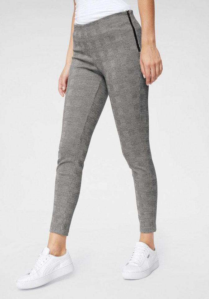 Only Jeggings »TIA«, Modisches Glencheck Muster online kaufen   OTTO 7601d64aea