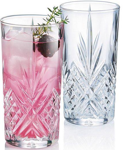 Luminarc Longdrinkglas »Eugene« (6-tlg), Glas, edler Schliff