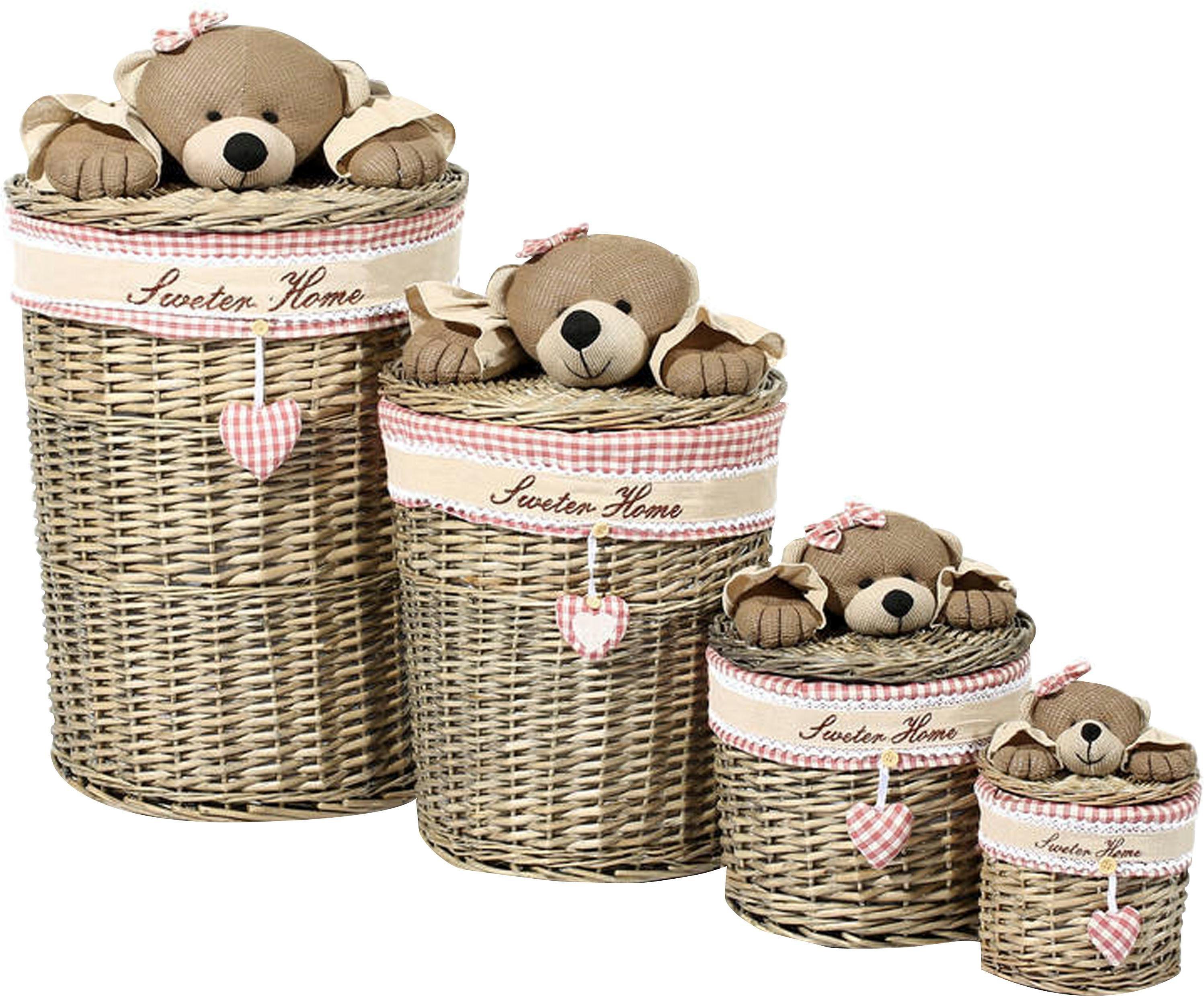 Home affaire Korb-Set »Teddy«