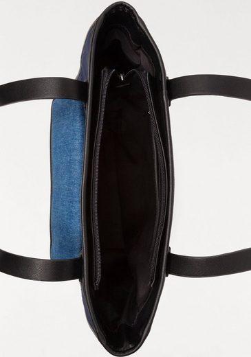 Esprit blocking Im look Shopper Color xqFxfOB