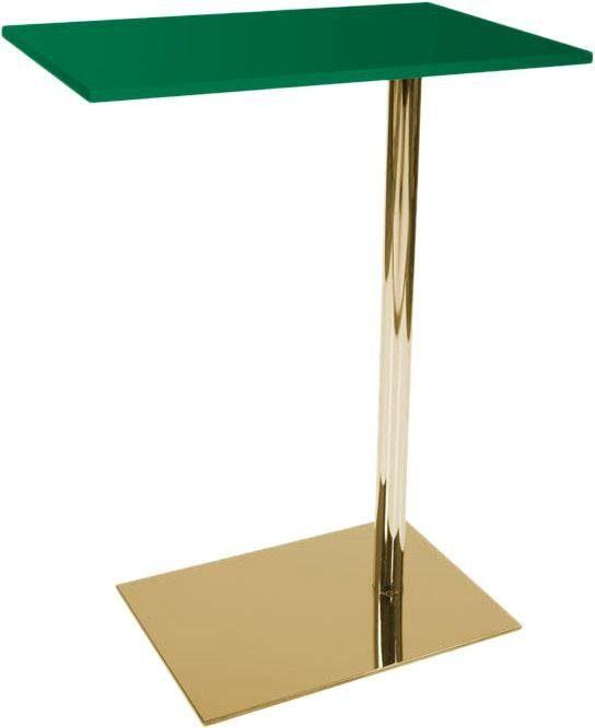Home affaire Beistelltisch »Lucy«, grün/gold