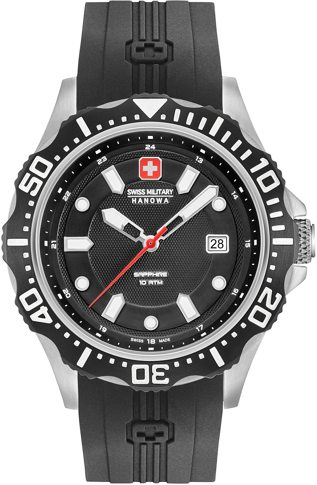 Swiss Military Hanowa Schweizer Uhr »PATROL, 06-4306.04.007«