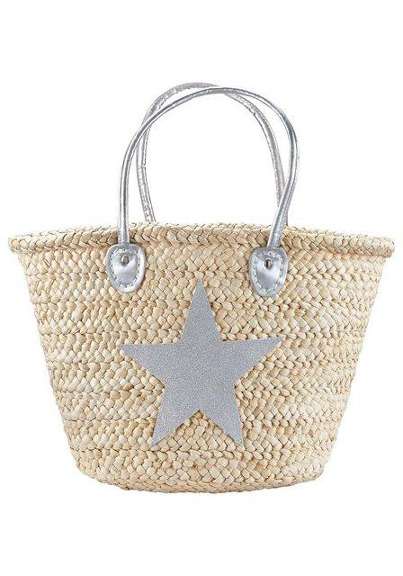 LASCANA Strandtasche, mit Stern | Taschen > Handtaschen > Strandtaschen | Lascana