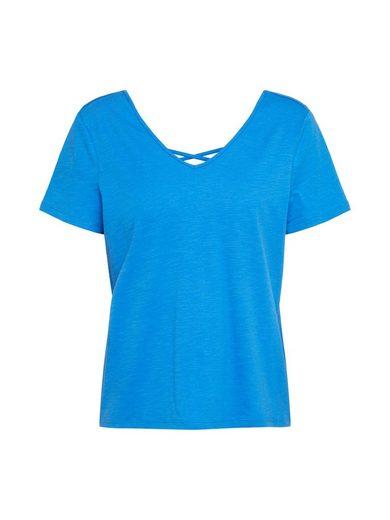 Esprit V-Shirt »Lacing Tee«