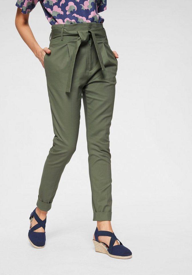 NOA NOA Bundfaltenhose mit eleganten Bundfalten | Bekleidung > Hosen > Bundfaltenhosen | Grün | NOA NOA