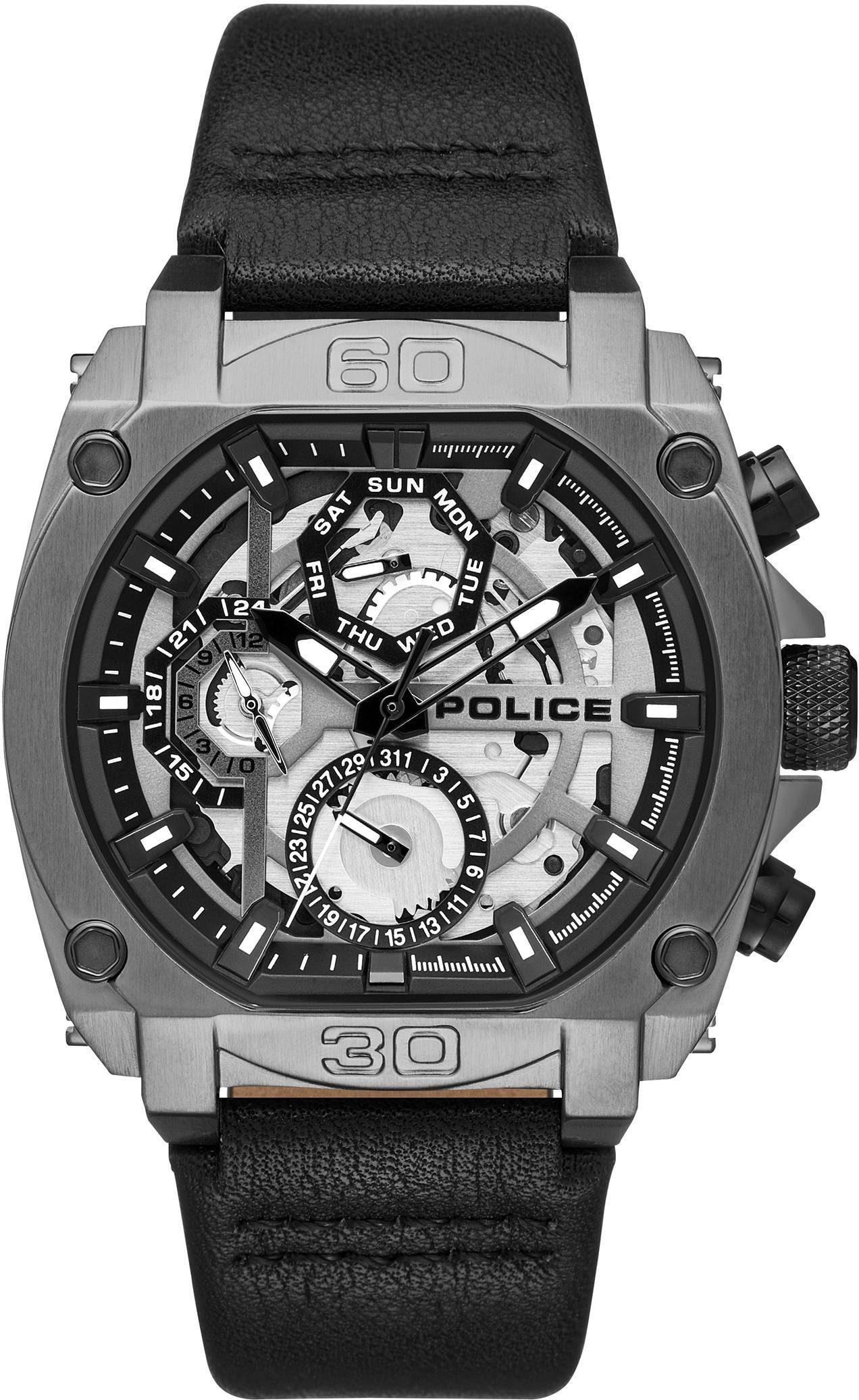 Police Multifunktionsuhr »NORWOOD, PL15472JSU.61«