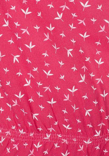 Schlupfbluse Red Minimalprint Label S oliver Mit Modischem Y5fqTwtwx