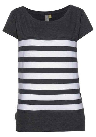 0aa64c19a6fcb3 alife and kickin T-Shirt »CORA S« modisches kurzarm Shirt mit Streifen