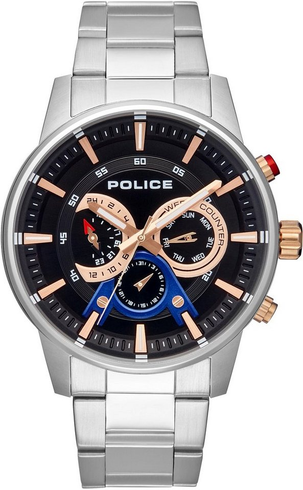 Police Multifunktionsuhr »AVONDALE, PL15523JS.02M«   Uhren > Multifunktionsuhren   Police