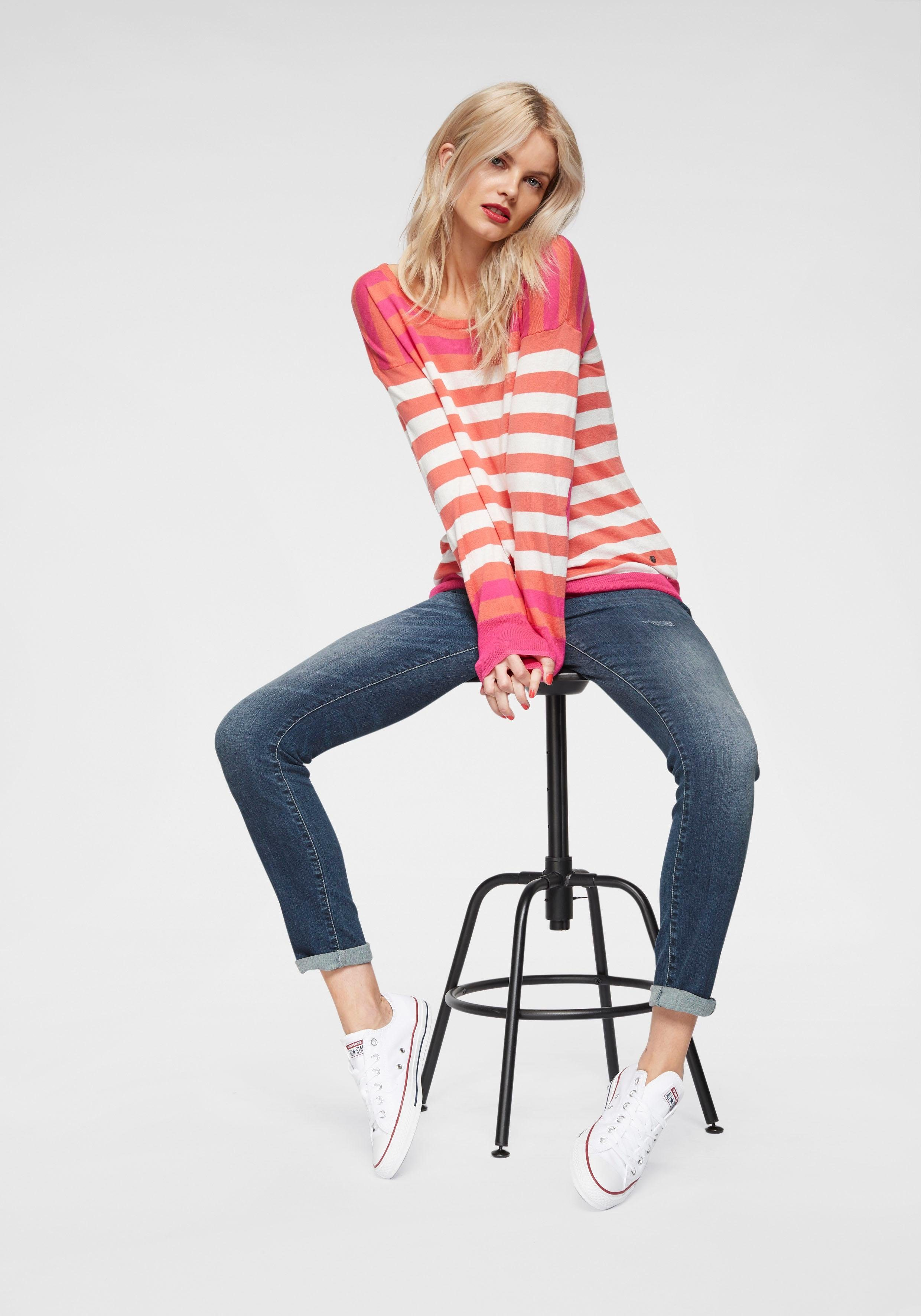 Stretch jeans Straight anteil Aus »indiana Mit Leg« Straight Fritzi Preußen xvFA8