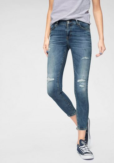 LTB Skinny-fit-Jeans »LONIA« in extra kurzer Ankle-Länge