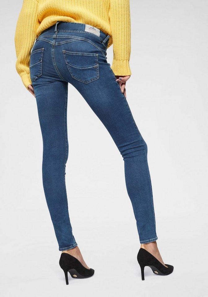 490a75a6cd569a Herrlicher Slim-fit-Jeans »GILA SLIM« Low Waist Super-Stretch Qualität