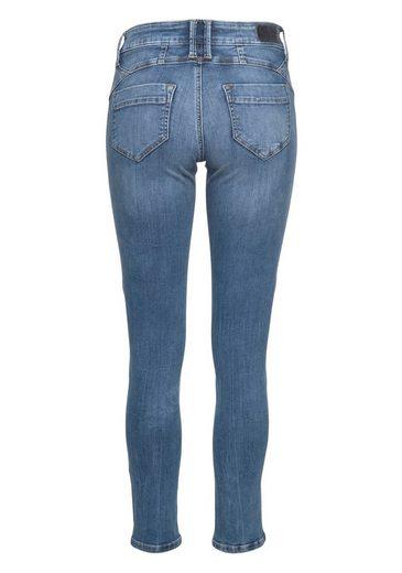 Slim Aus Studs« »indiana amp; Mit Fritzi fit Streifen Preußen jeans Glitter Seitlichem Glitzersteinen qRnBEF