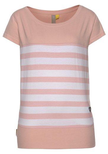 alife and kickin T-Shirt »CORA S« modisches kurzarm Shirt mit Streifen