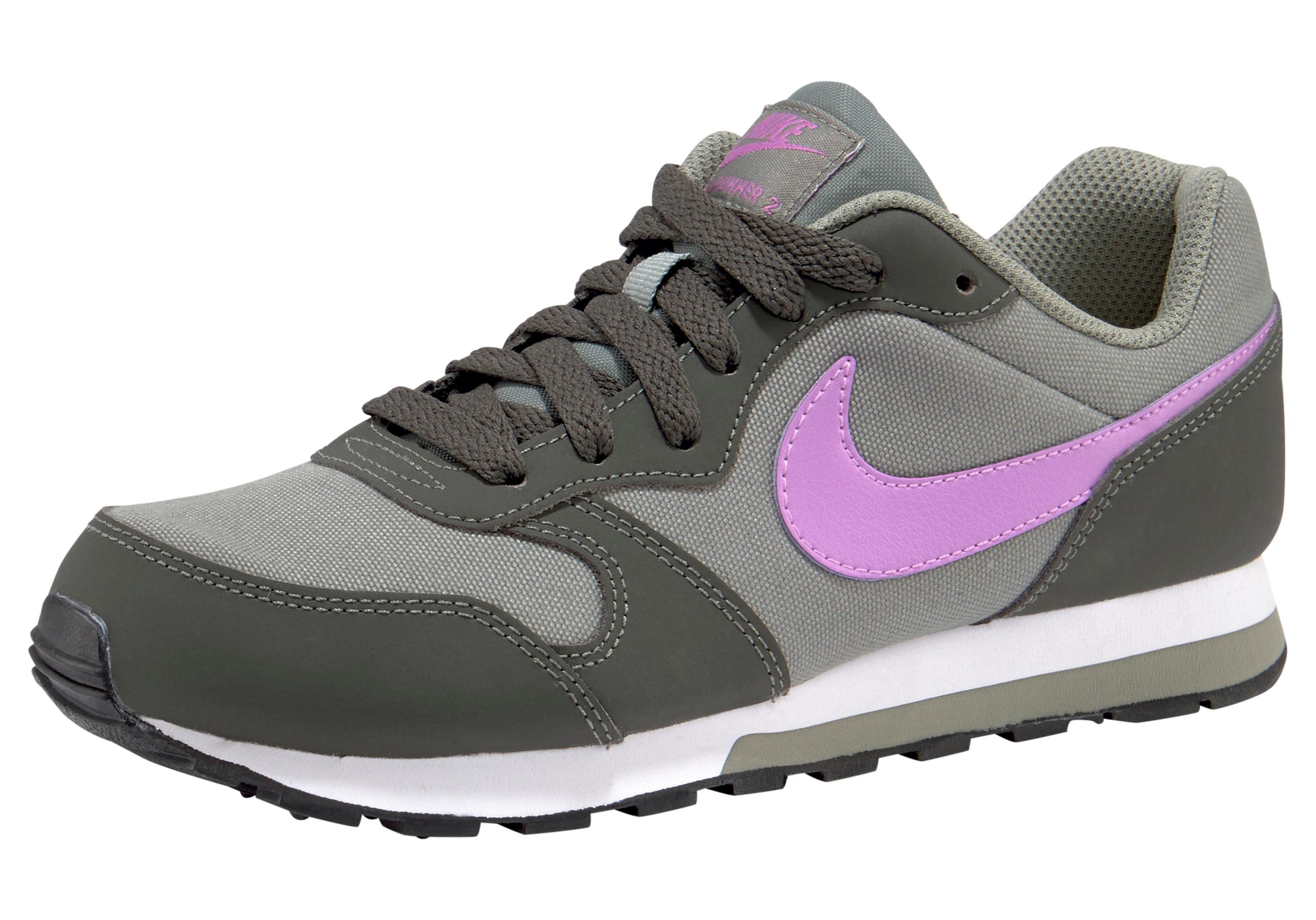 Nike Jungen Md Runner 2 Sneaker, grau