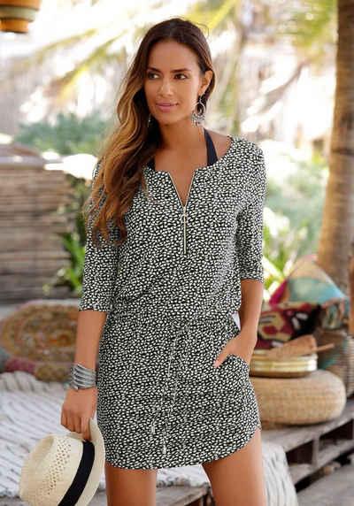 4e368855e27b s.Oliver RED LABEL Beachwear Strandkleid mit Reißverschluss