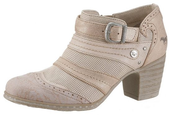 Mustang Mustang Patchworkoptik Shoes In Shoes Hochfrontpumps T5xF0Hq