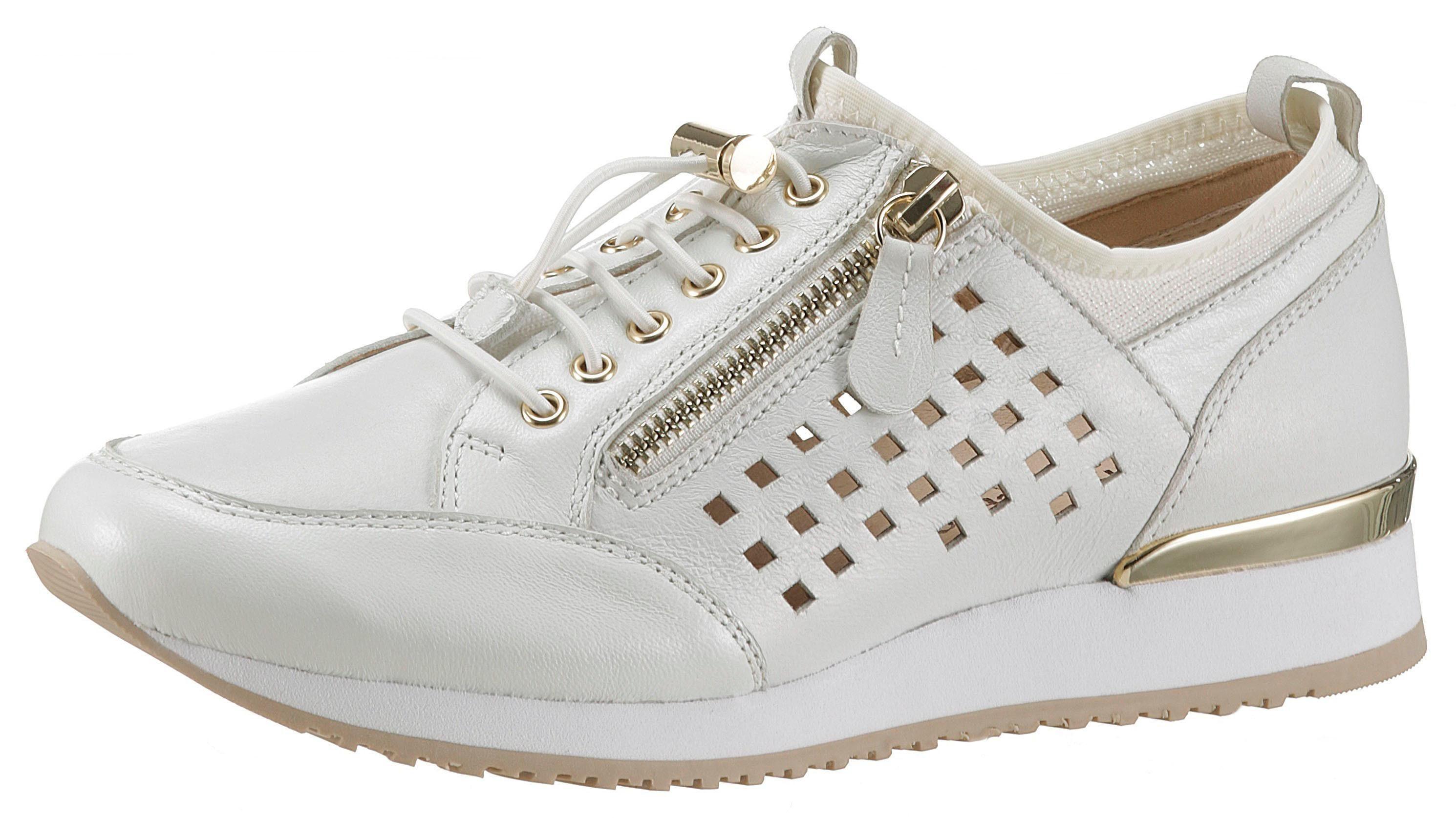 Caprice Slip-On Sneaker mit Zierreißverschluss