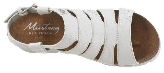 Mit Außen Sandalette Shoes Logo Mustang qBw4CxY