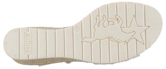 Strasssteinchen Mustang Shoes Sandalette Verziert Mit xwxtZfr4Aq
