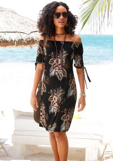 Beachtime Strandkleid mit Bändern an den Ärmeln