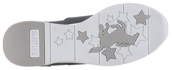 Mustang Mustang Shoes Keilsneaker Glitzerdetails Glitzerdetails Keilsneaker Mustang Mit Shoes Shoes Mit Keilsneaker f0Ewxgf