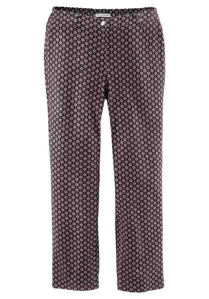 GMK Curvy Collection Stretch-Hose mit modernem Allover-Druck
