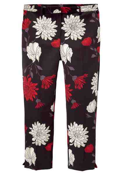 GMK Curvy Collection 7/8-Hose mit floralem Allover-Print