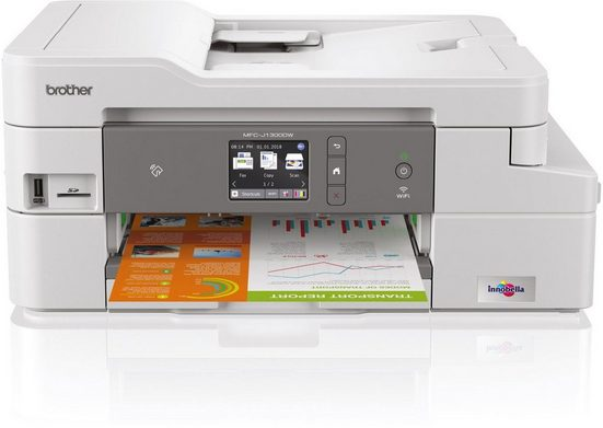 Brother Tintenstrahl-Multifunktionsdrucker »MFC-J1300DW 4in1«