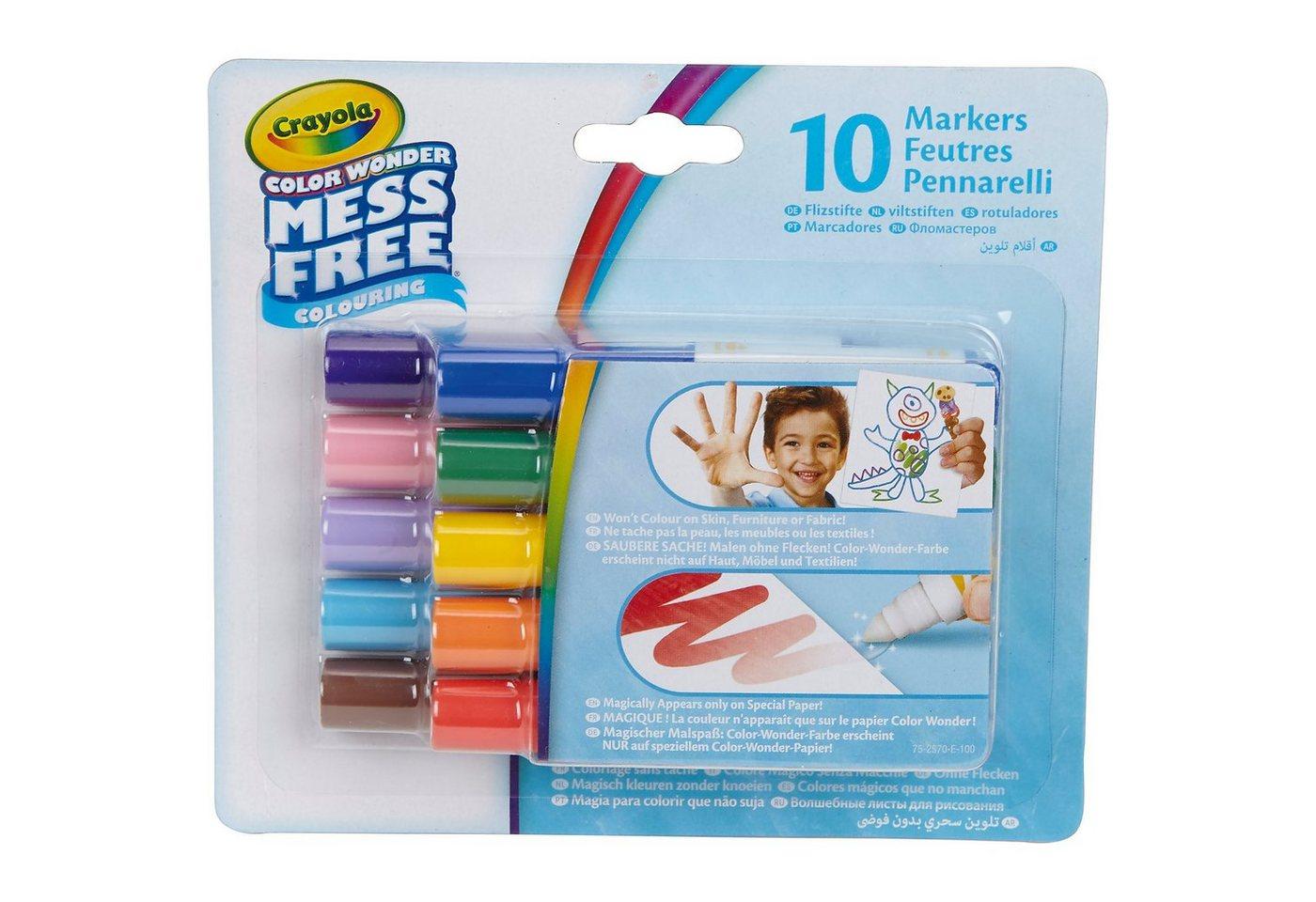 Crayola® 10 Color Wonder Filzstifte