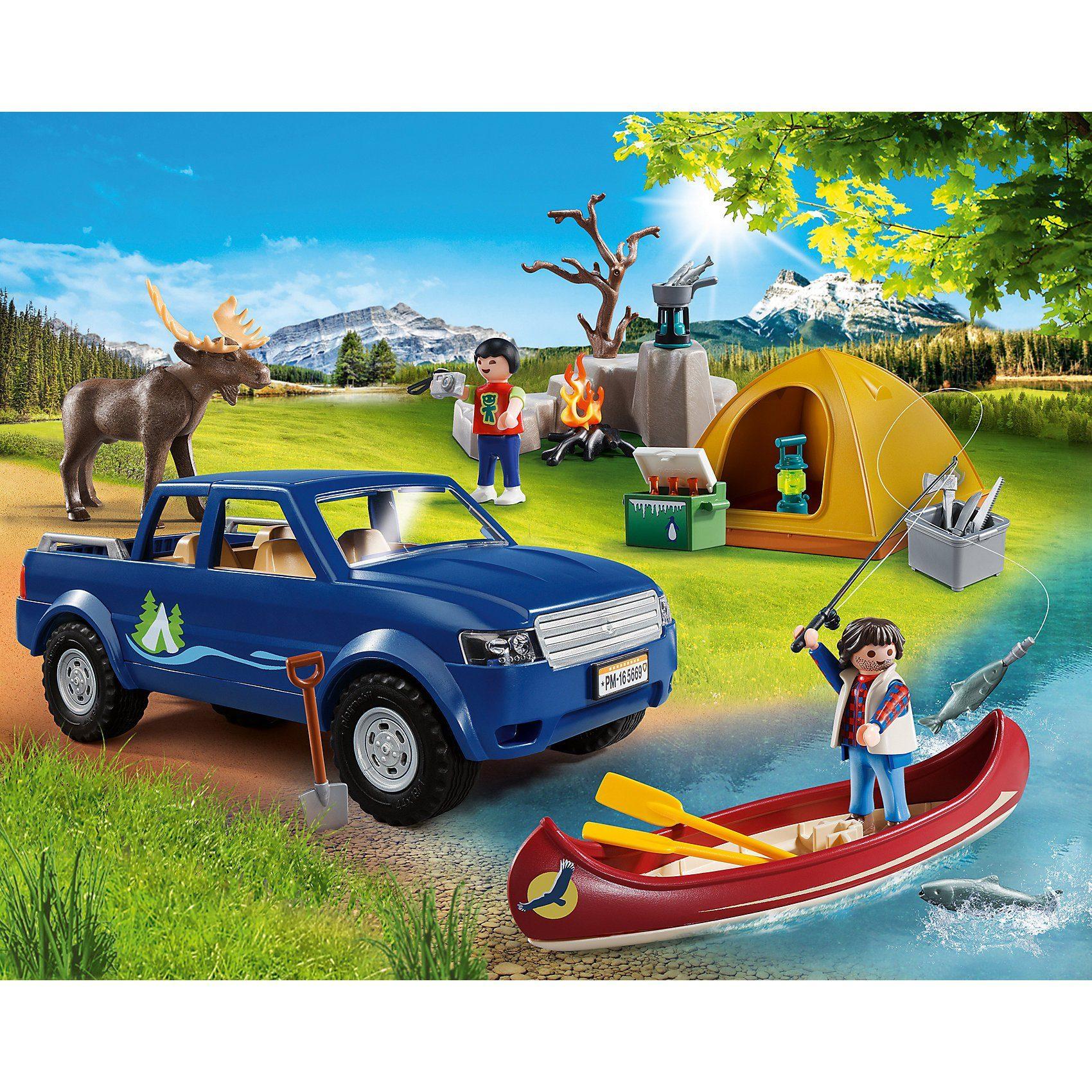 Playmobil® 5669 Campingausflug mit Pick up